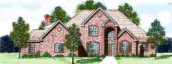 Traditional Style Floor Plans Plan: 3-128