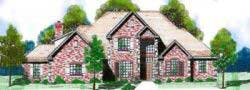 Traditional Style House Plans Plan: 3-129