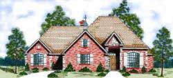 Traditional Style House Plans Plan: 3-131