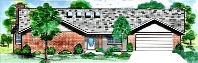 Ranch Style House Plans Plan: 3-135