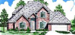 Traditional Style Home Design Plan: 3-139