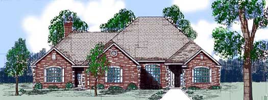 Traditional Style Floor Plans Plan: 3-140