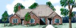 Traditional Style Home Design Plan: 3-140