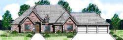 European Style House Plans Plan: 3-141