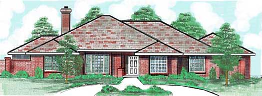 Traditional Style House Plans Plan: 3-143