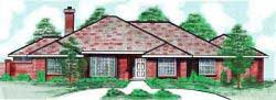 Traditional Style Home Design Plan: 3-143