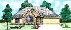 Traditional Style Floor Plans Plan: 3-144