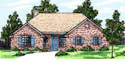 Traditional Style Floor Plans Plan: 3-146