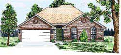 Traditional Style Home Design Plan: 3-148