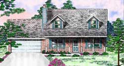 Country Style Floor Plans Plan: 3-151