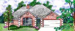 Traditional Style Floor Plans Plan: 3-152