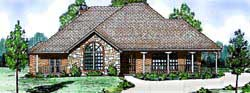 Country Style House Plans Plan: 3-154