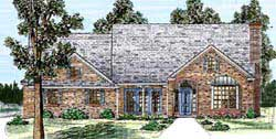 Traditional Style House Plans Plan: 3-156