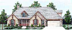 Traditional Style Floor Plans Plan: 3-157