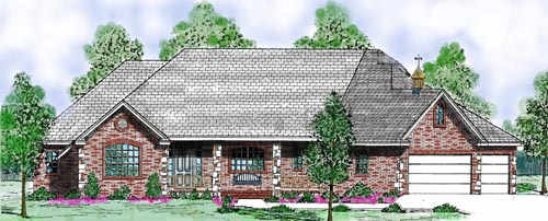 Traditional Style Floor Plans Plan: 3-159