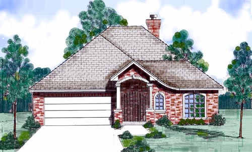 Traditional Style House Plans Plan: 3-162