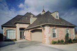 French-Country Style Floor Plans Plan: 3-165
