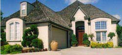 French-Country Style Home Design Plan: 3-168