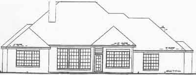 Rear Elevation Plan: 3-171