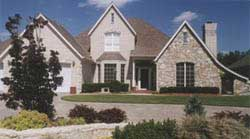 French-Country Style Floor Plans Plan: 3-173