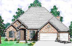 Traditional Style Floor Plans Plan: 3-174