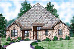 Traditional Style House Plans Plan: 3-177
