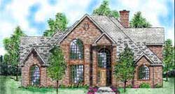 Traditional Style Floor Plans Plan: 3-178