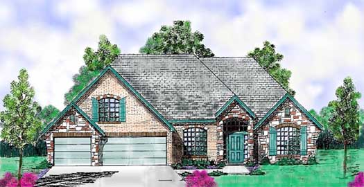 Traditional Style House Plans Plan: 3-181
