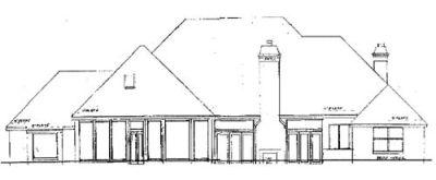 Rear Elevation Plan: 3-182