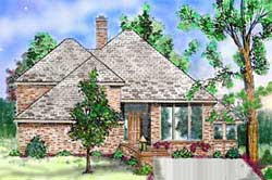 Contemporary Style Floor Plans Plan: 3-183