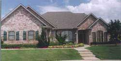 Traditional Style Home Design Plan: 3-190