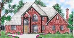Traditional Style Floor Plans Plan: 3-191