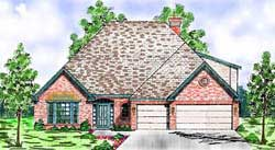 Traditional Style Floor Plans Plan: 3-196