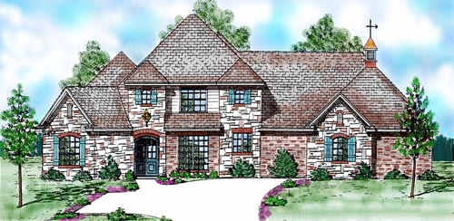 Traditional Style Floor Plans Plan: 3-200