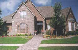 Traditional Style Home Design Plan: 3-202
