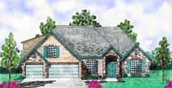 Traditional Style House Plans Plan: 3-203
