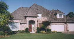 Traditional Style Home Design Plan: 3-204