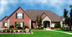European Style House Plans Plan: 3-206