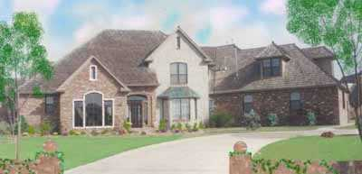 Traditional Style House Plans Plan: 3-211