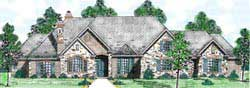English-Country Style House Plans 3-224