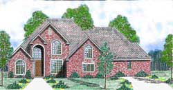 Traditional Style House Plans Plan: 3-225