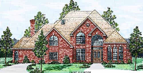 Traditional Style House Plans Plan: 3-228