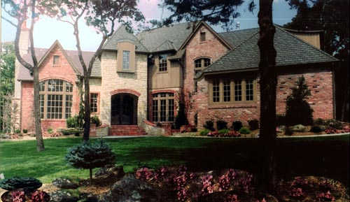 French-country Style House Plans Plan: 3-230