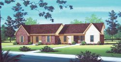 Traditional Style Home Design Plan: 30-102