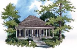 Southern Style House Plans Plan: 30-103