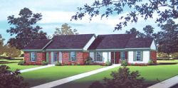 Ranch Style Home Design Plan: 30-105