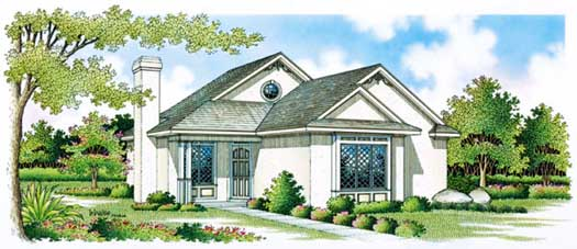 Cottage Style House Plans Plan: 30-106