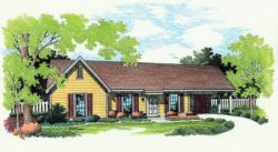 Ranch Style House Plans Plan: 30-107