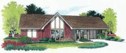 Traditional Style Floor Plans Plan: 30-108