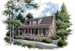 Country Style House Plans Plan: 30-110